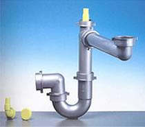 Esempio di sifone idraulico